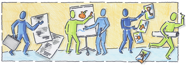 Visualisieren leicht gemacht<h3>Basis Workshop: Der Prozessbilder-Klassiker</h3>