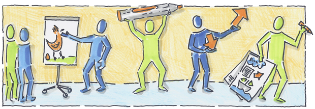 Visualisierung in Beratung und Prozessbegleitung<h3>Aufbau-Workshop</h3>